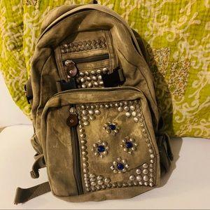 Free People Embellished Backpack